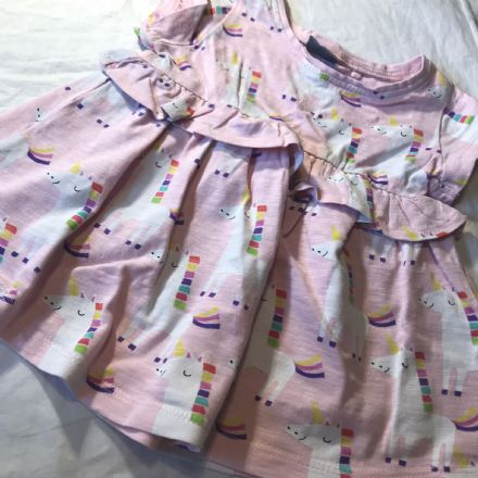 3-6 Month Unicorn Dress